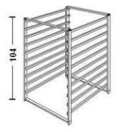 Elfa 10 Runner Drawer Frame - 54cm Deep