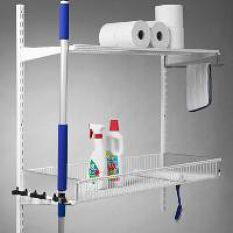 Elfa Cleaning Shelf & Broom Kit