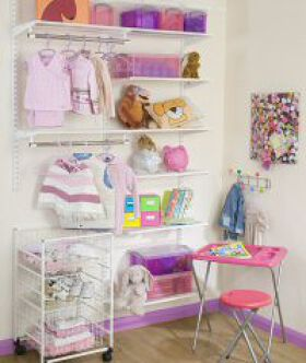 Elfa Best Selling Solution - Tots Wardrobe
