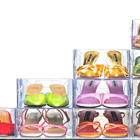 5 x Stacking Shoe Drawers