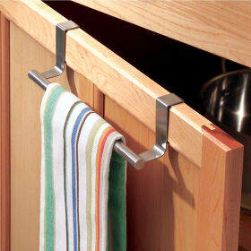 Kitchen Over Cabinet Towel Bar