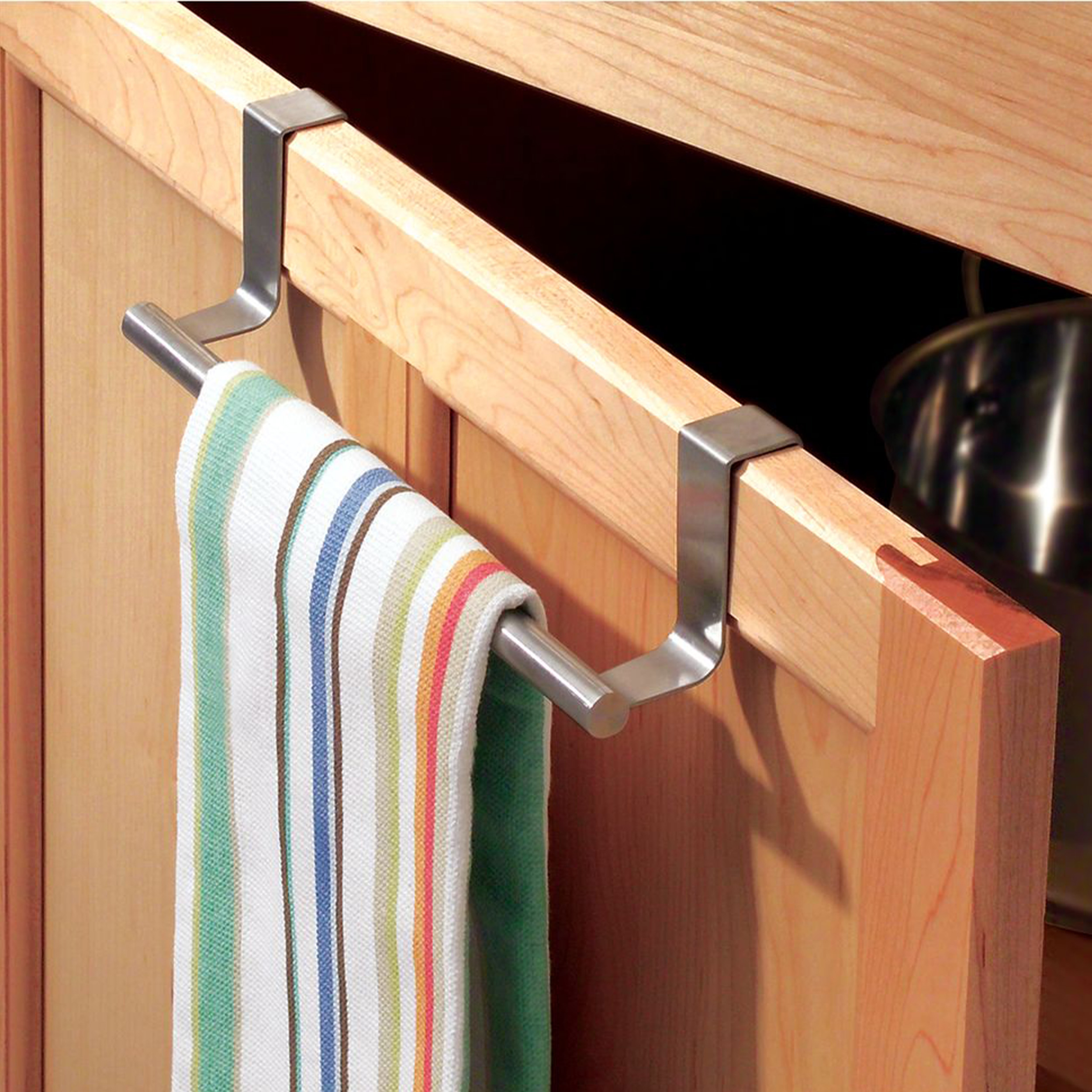 Kitchen Over Cabinet Towel Bar Store