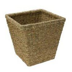 Seagrass Wastepaper Bin