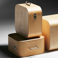 Handmade LP Storage Box