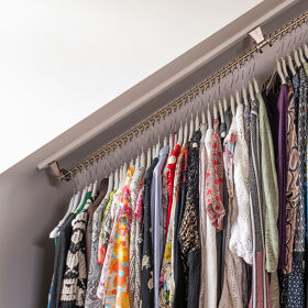 Any Angle Clothes Hanging Rail - Zebedee 80cm