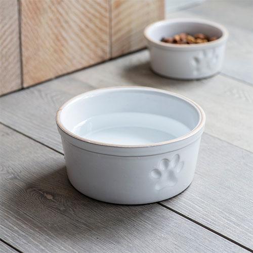 Stoneware Pet Bowl - Large