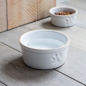 Stoneware Pet Bowl - Large