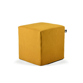B-Box Footstool - Brushed Suede