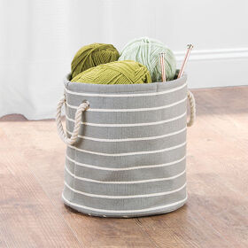 Storage Bin with Rope Handles