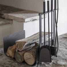 Fireside Log Holder & Companion Set - Stanton