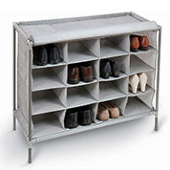 16 Compartment Shoe Organiser