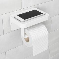 Sure-Lock Toilet Roll Holder & Shelf - Flex