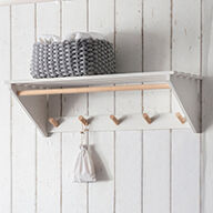 Slatted Laundry Shelf - Melcombe