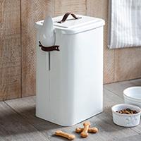 Pet Food Storage Bin with Scoop - Large