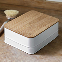 Storage Box with Bamboo Lid - Portland
