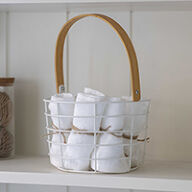 Wirework Storage Basket - Portland