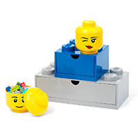 Giant LEGO Storage Head - Mini