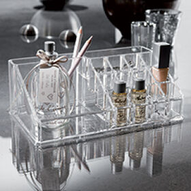 Multi Compartment Make-Up Organiser