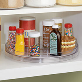 Rotating Kitchen Cupboard Organiser