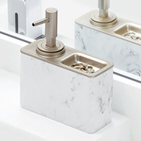 Soap Dispenser Pump with Ring Tray - Dakota