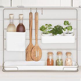 Kitchen Countertop Tidy System - Austin