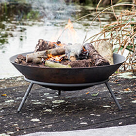 Cast Iron Fire Pit - Idbury