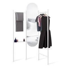 Floor Mirror and Valet Stand - Vala