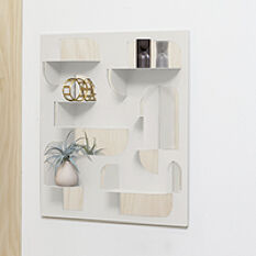 Bend Shelf and Mirror