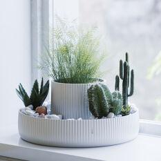 Ceramic Indoor Planter - Fountain