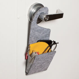 Door Handle Storage Pocket