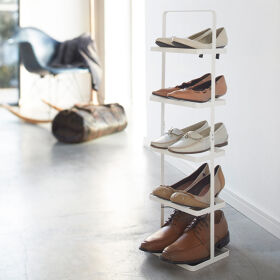 Narrow Shoe Rack - 5 Tier