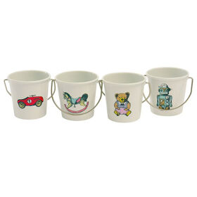 Vintage Toys Egg Cups - Set of 4