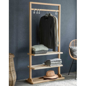 Wooden Clothes Rail - Boscombe