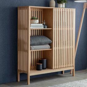 Wooden Storage Unit - Linear