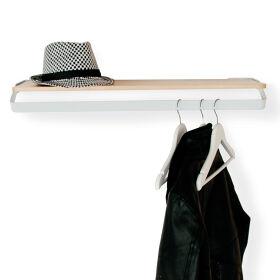 Outline Coat Rack & Shelf
