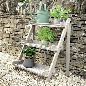 Wooden Plant Stand - Aldsworth