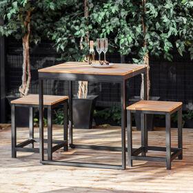 Garden Table & Stool Set - Camley