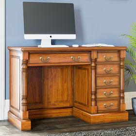 Single Pedestal Computer Desk - La Reine
