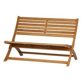 Wooden Garden Bench - Lois