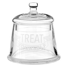 Glass Storage Jar - Treat Yourself