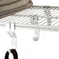 Elfa Utility Shelf Hooks - Pack of 3