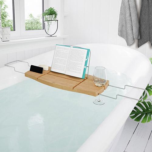 Bamboo Bath Caddy - Aquala