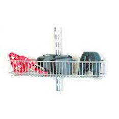 Elfa Door and Wall Rack Basket - Shallow